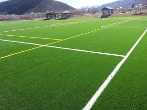 artificial turf sports fields